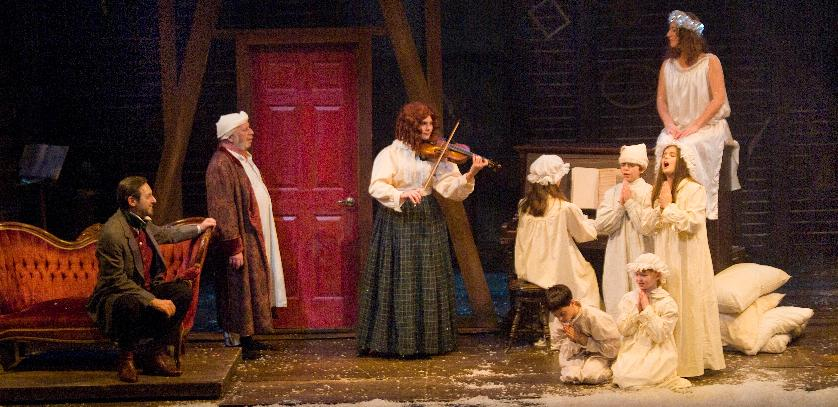 charles dickens a christmas carol new repertory theatre new repertory theatre - A Christmas Carol 2009 Cast